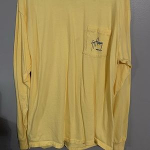 2/$10 Yellow Guy Harvey shirt